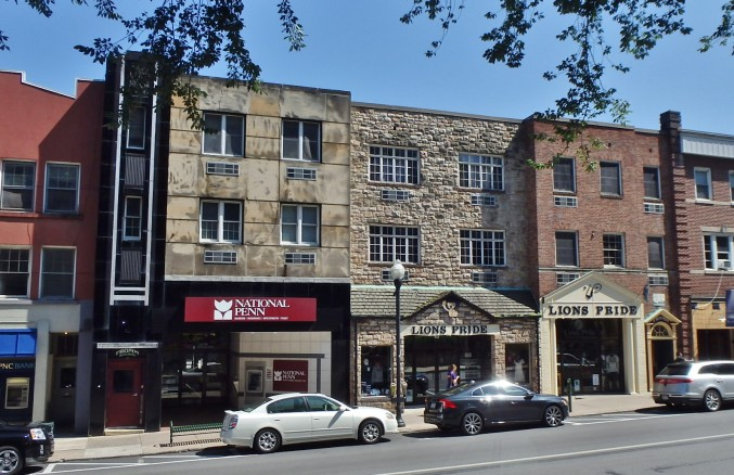 The Fromm Building Apartments. 112-118 E. College Avenue in State College, PA