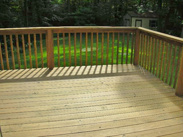 Deck photo at 110 Cherry Ridge Road in State College, PA.