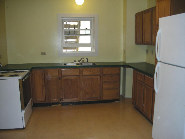 Image of one of the apartment's kitchen. 108 N. Allegheny Street, Bellefonte.