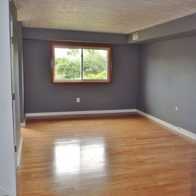 Living room photo of the 3 bedroom townhouse for rent at 1131-D W. Aaron Drive in State College PA