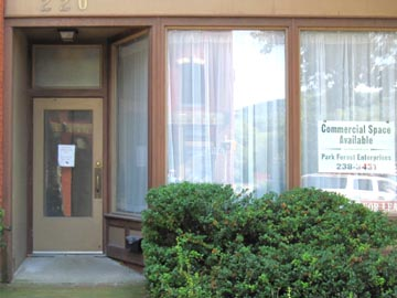 Commercial Storefront Available at 220 W. High Street, Bellefonte PA 16823