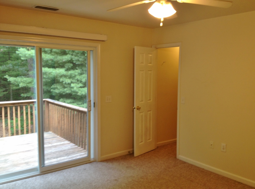 Bedroom photo of the duplex at 3050 Carnegie Drive in State College PA