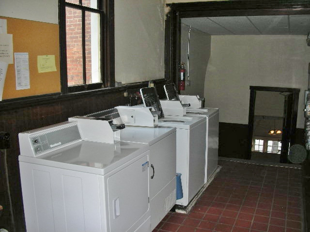 Laundry photo of the historic Bush Arcade, Bellefonte, PA 16823