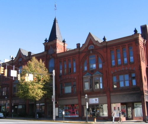 The Bush Arcade Building has 6 efficiency apartments in downtown Bellefonte, PA.