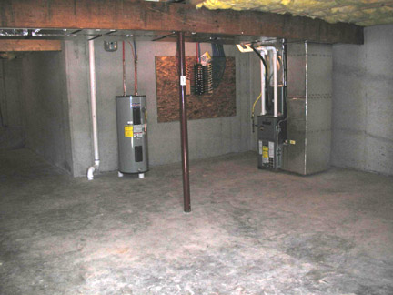 Basement Photo: Vista Courts Townhouses for rent in State College PA