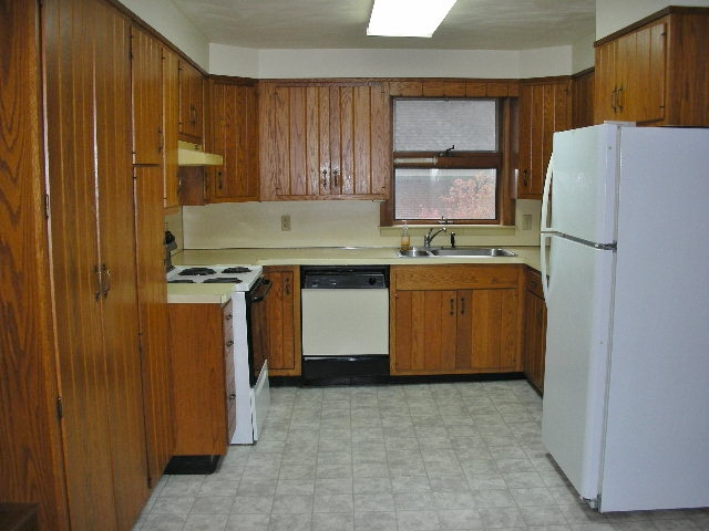 Kitchen photo of the non-student rental home at 103 E. Park Avenue.