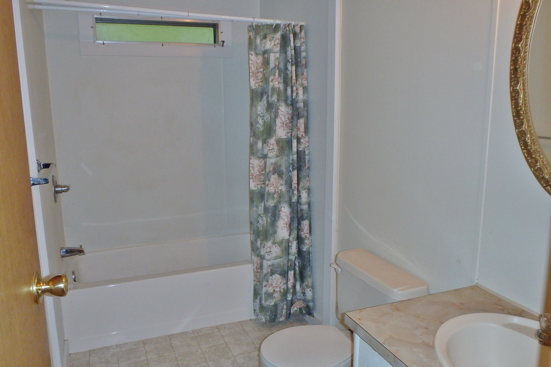 Bathroom photo of the 2-bedroom house for rent at 107 Driftwood Drive in State College PA.