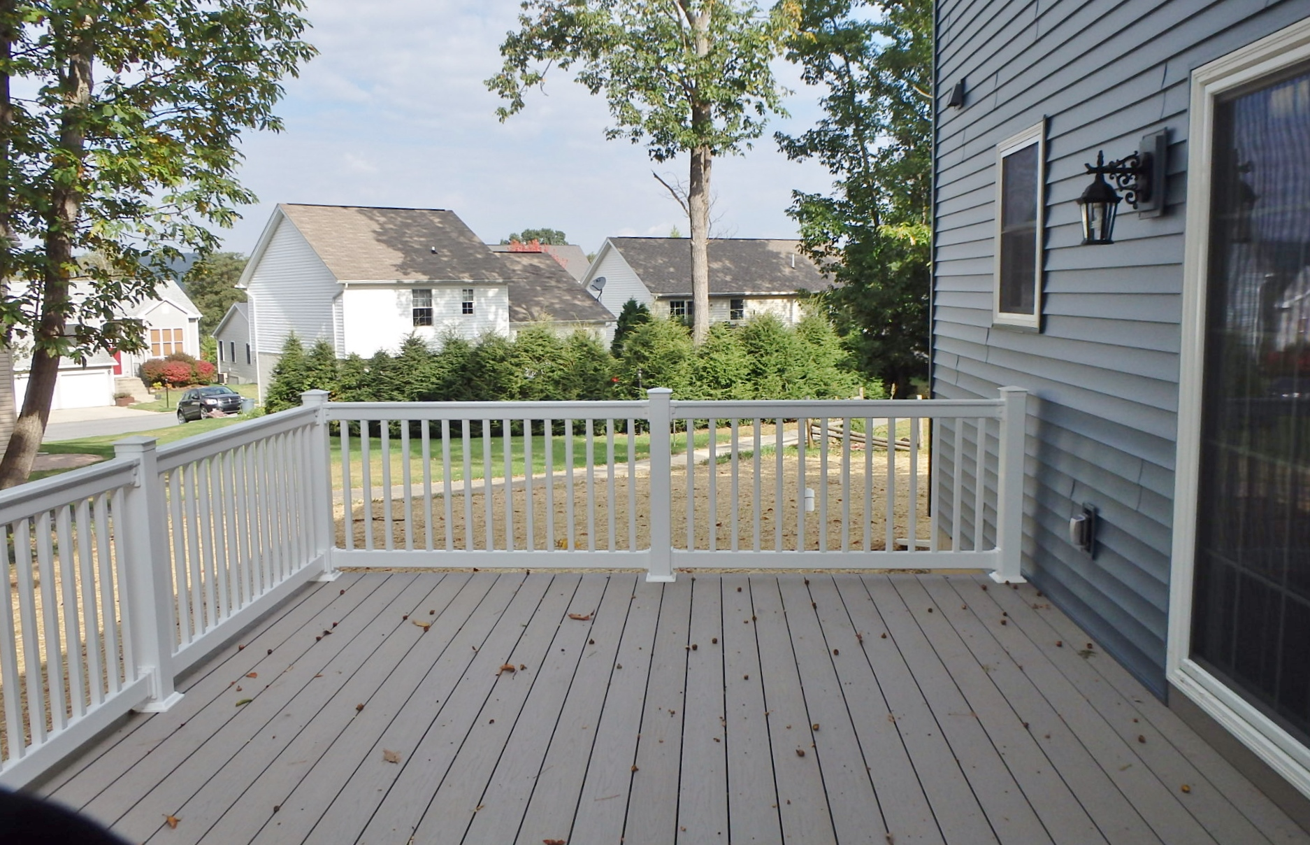 Deck photo at 164 McKivision Court in State College PA.
