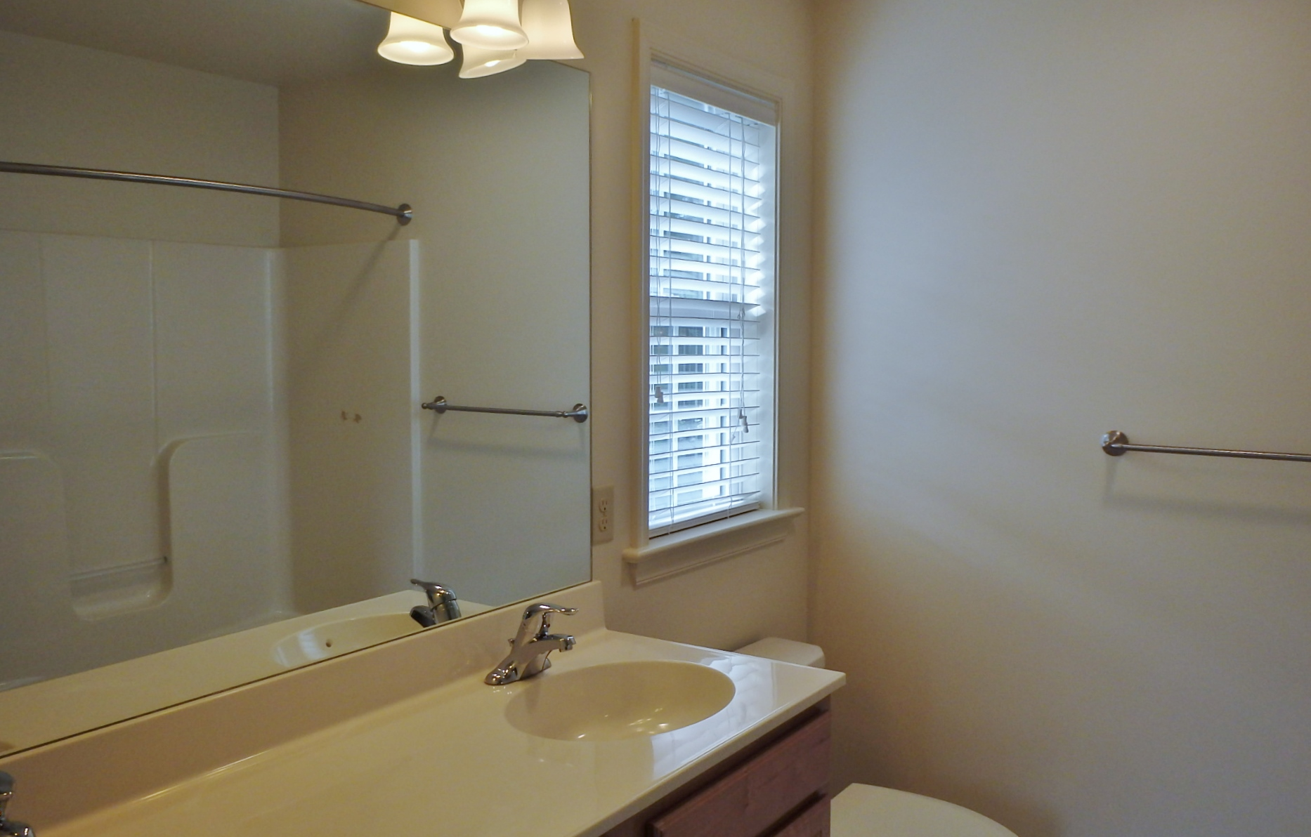Master bathroom photo at 164 McKivision Court in State College PA.