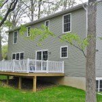 Deck photo of the 4-bedroom house for rent at 1840 Park Forest Avenue.