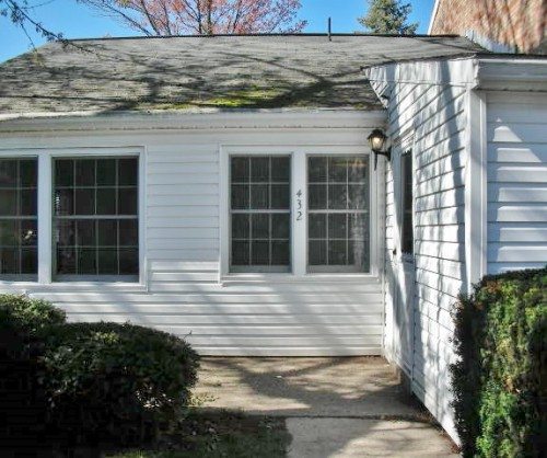 Front photo of the 2-bedroom townhouse for rent at 432 Amblewood Way in State College, PA.