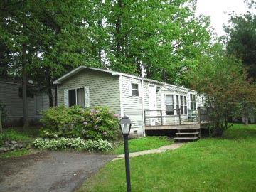 Front photo of the 2-bedroom house for rent at 104 Driftwood Drive in State College, PA.