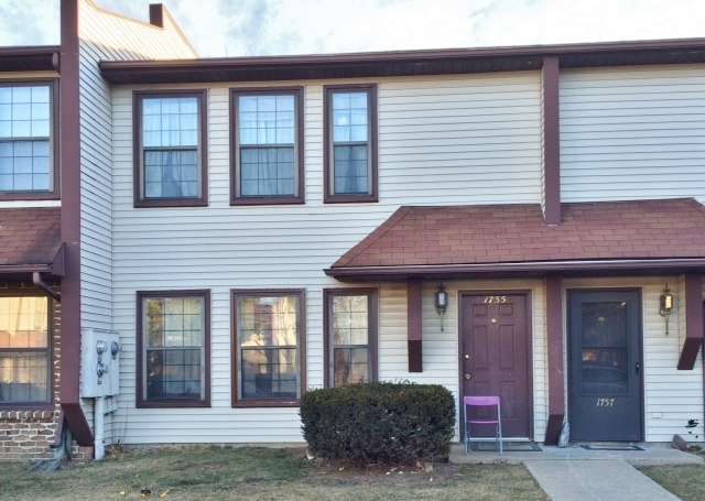 Front photo of the 3-bedroom townhouse for rent at 1755 Blue Course Drive in State College, PA.