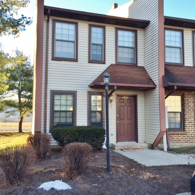 Front photo of the 2 bedroom townhouse for rent at 1771 Blue Course Drive in State College, PA.