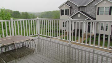 Deck at 688-A Oakwood Avenue, State College.