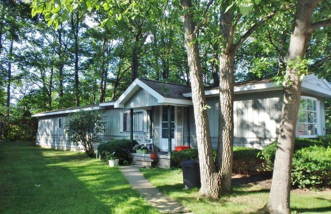 Front photo of the 2-bedroom house for rent at 112 Driftwood Drive in State College, PA.