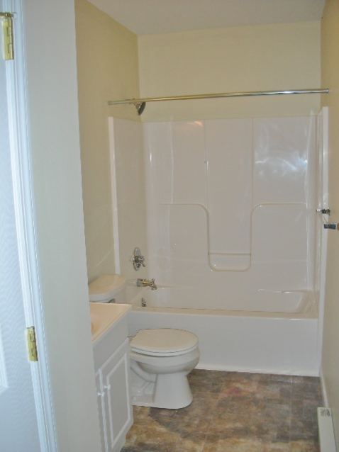 Bathroom at 131-A E. College Avenue.