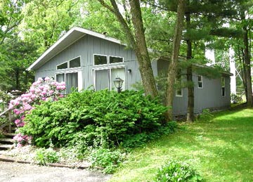 Front photo of the 2-bedroom house for rent at 131 Driftwood Drive in State College, PA.
