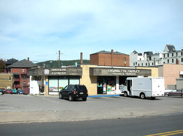 The commercial space at 141 W. Bishop Street in Bellefonte, PA is managed by Park Forest Enterprises, Inc.