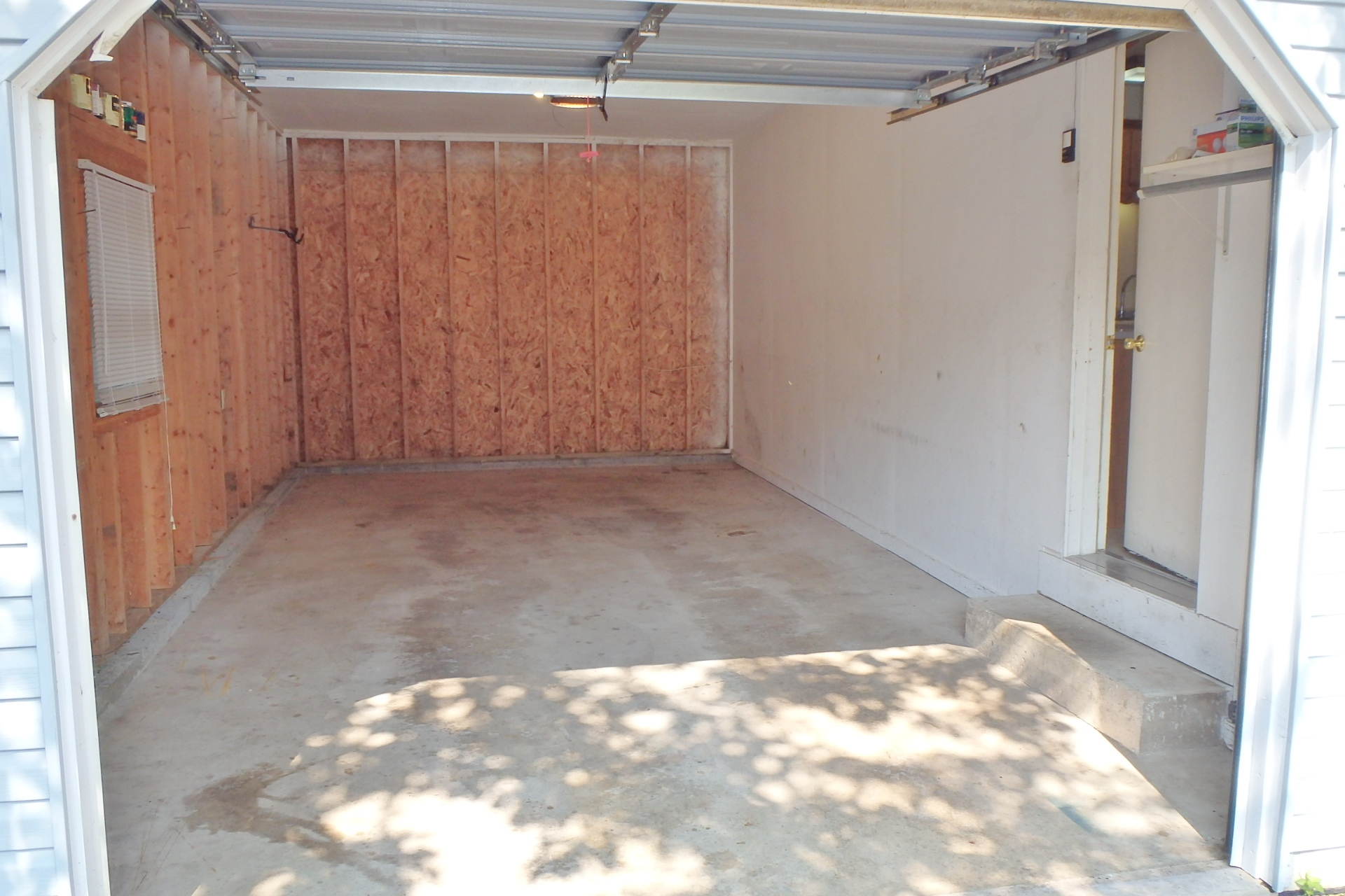 Garage at 317 Ghaner Drive.