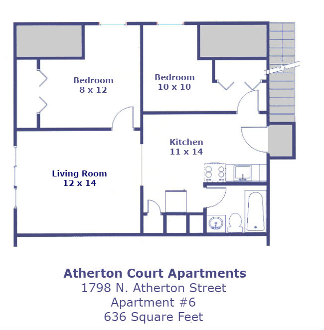 Atherton Court 6 Floor Plan