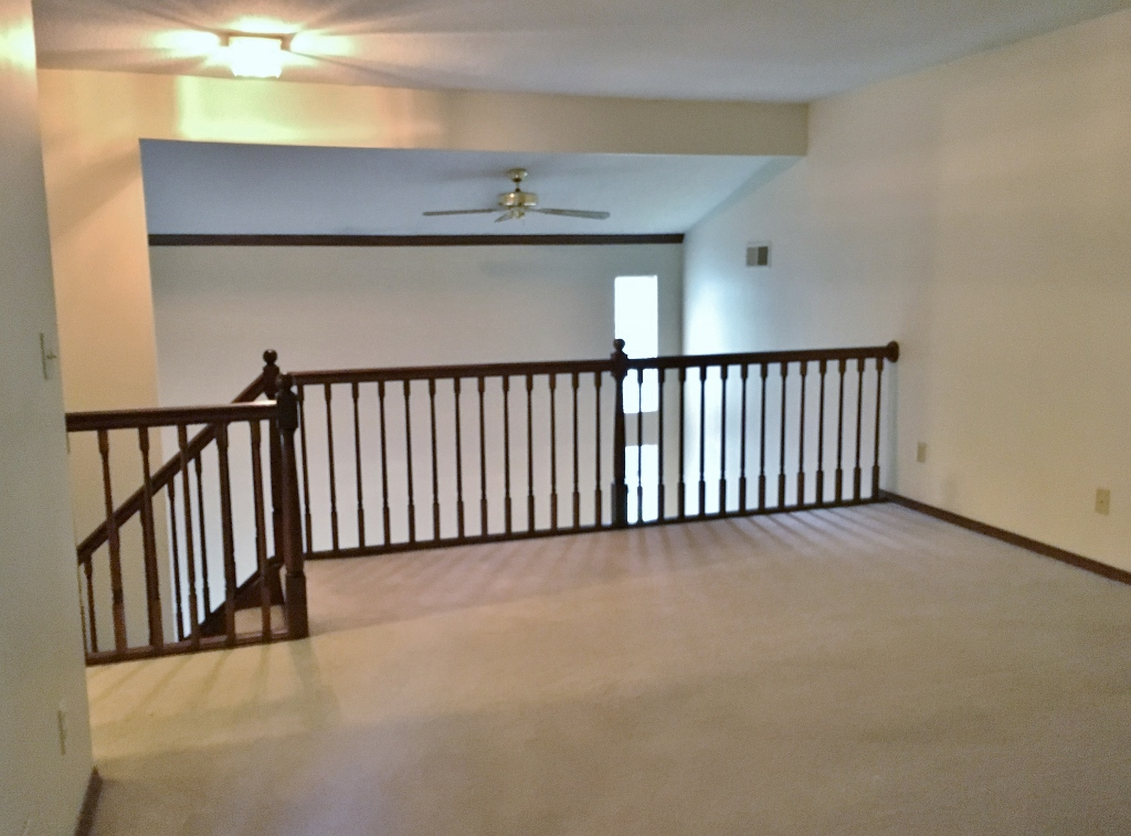 Photo of the loft area at 720 Galen Drive.