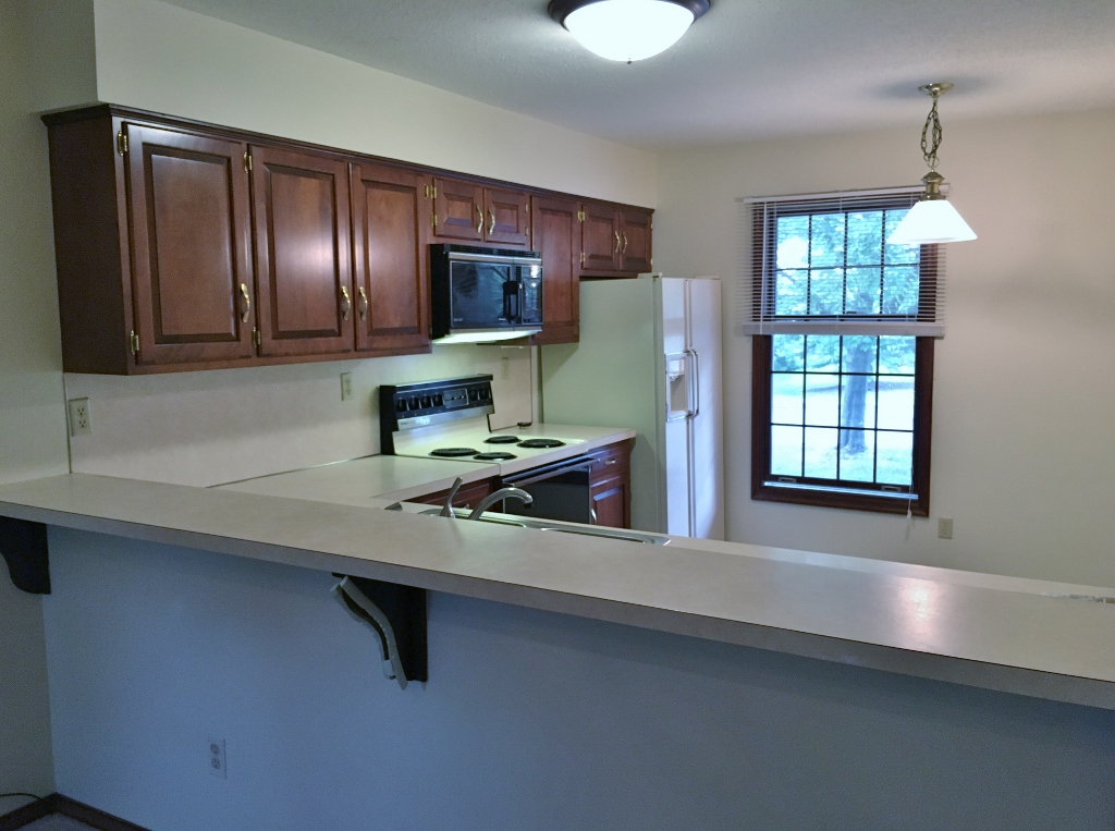 Photo of the breakfast bar at 720 Galen Drive.