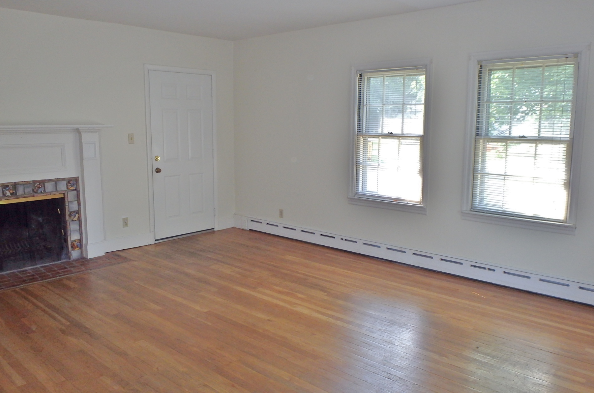Living room photo of the 2-bedroom apartment for rent at 404 W. Fairmount Avenue, State College PA.