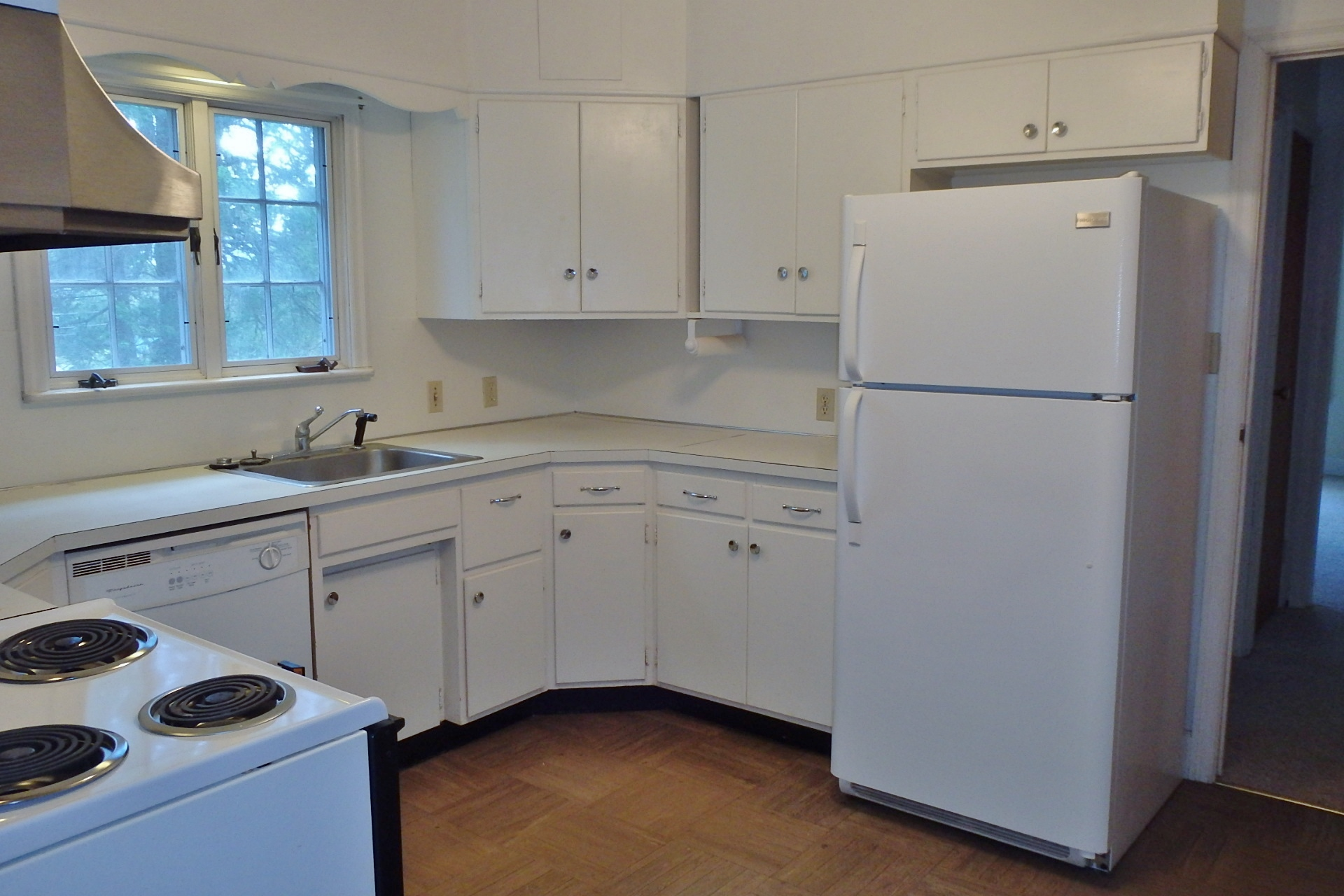Kitchen photo of the 2-bedroom apartment for rent at 404 W. Fairmount Avenue, State College PA.