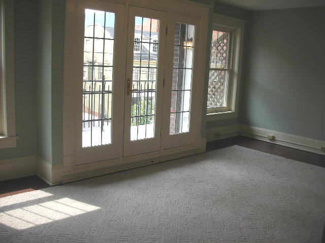 Image of one of the apartment's living room. 108 N. Allegheny Street, Bellefonte.