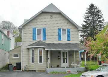 Front photo of the 3 bedroom house for rent at 704 W. Water Street in Bellefonte PA