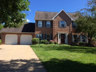 Front photo of the 5-bedroom house for rent at 560 Balmoral Circle in State College, PA.