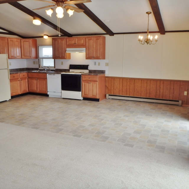 Dining area at 3111 Carnegie Drive.
