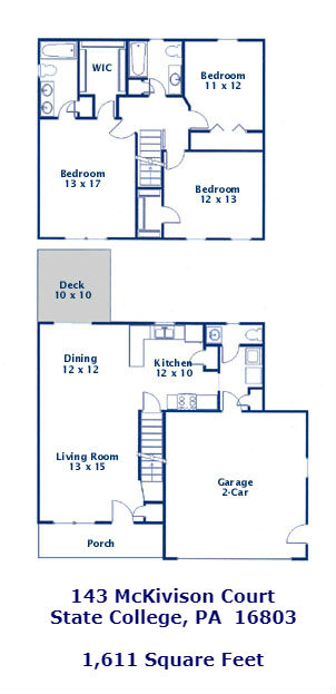 143 McKivison Court Floor Plan