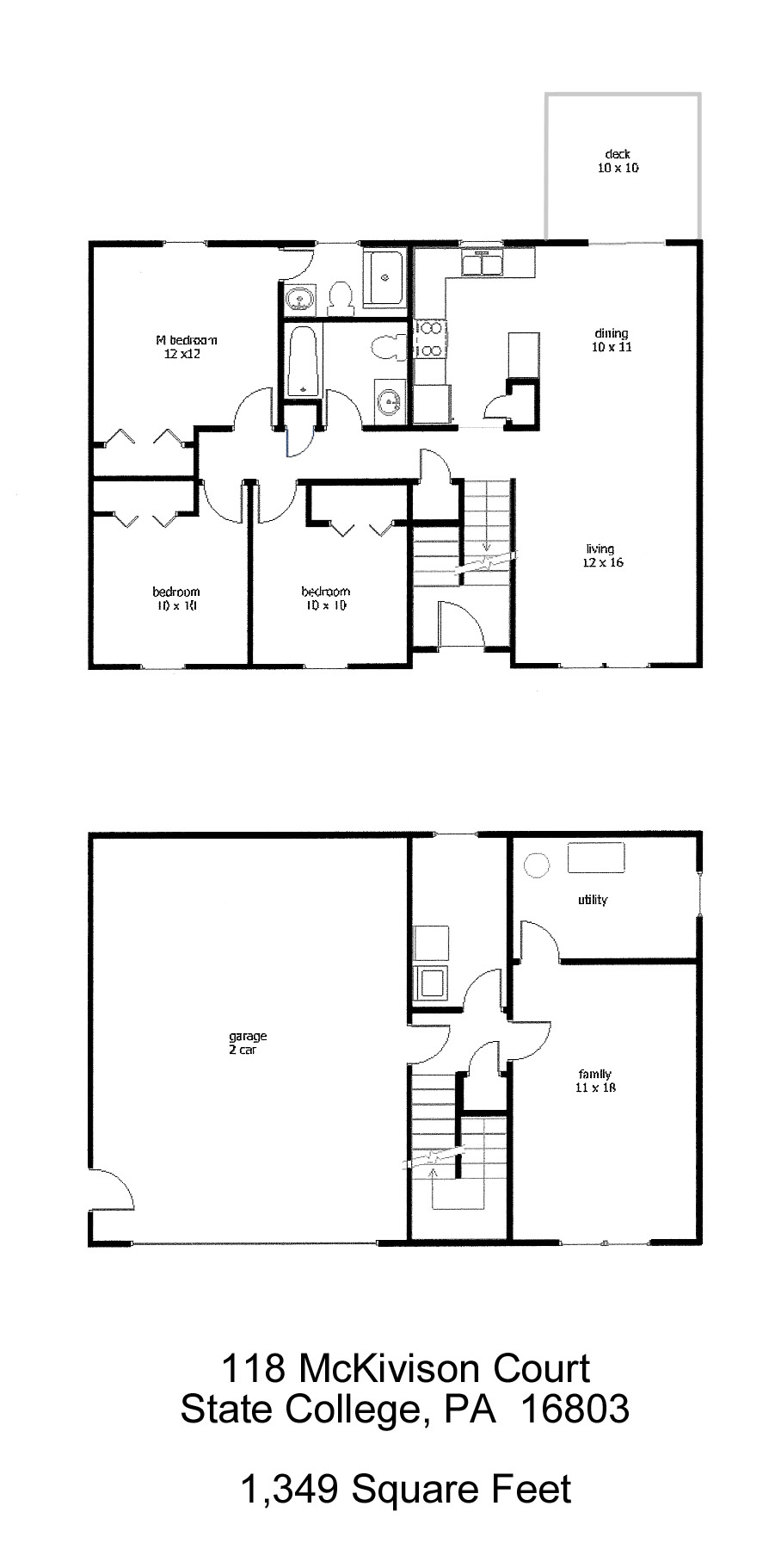 118 McKivison Court Floor Plan