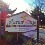 Aaron Village Sign