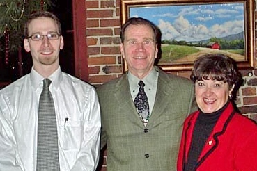 About Us Page Photo: Samuel Hawbaker, Joan Brower and Todd Hawbaker