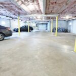 Atherton House indoor parking