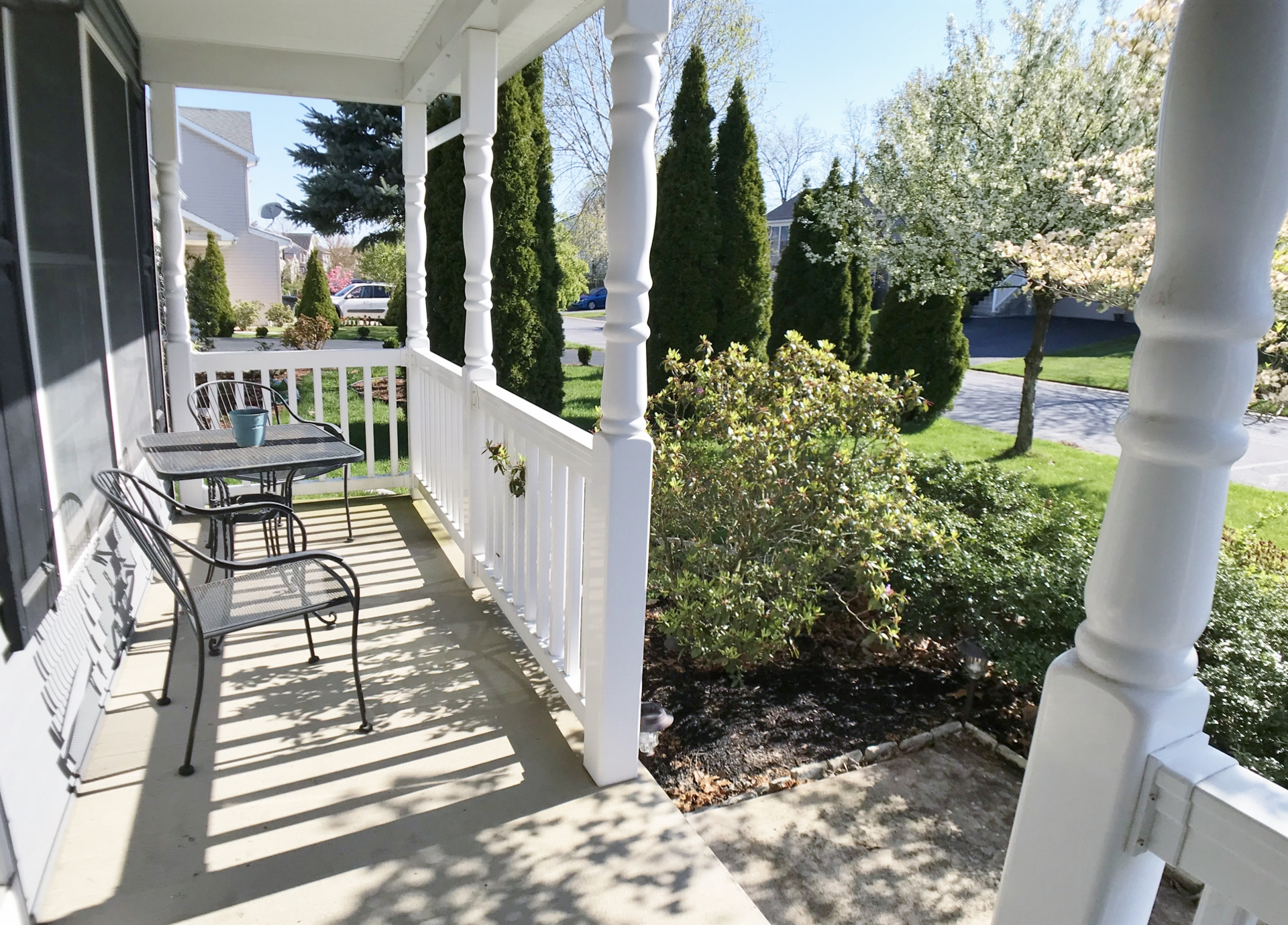 201 Ghaner Drive Porch